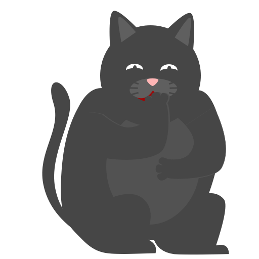 Black Pussycat messages sticker-9