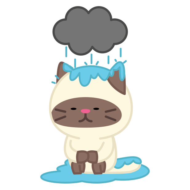 Story of a cute baby cat messages sticker-9