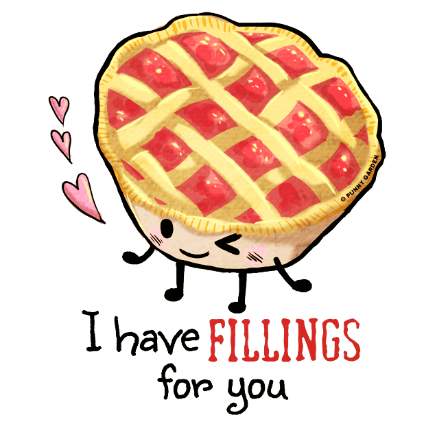Punny Yummy 5 messages sticker-6