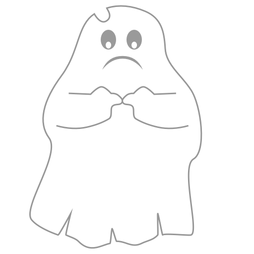 A Scary Ghost messages sticker-6