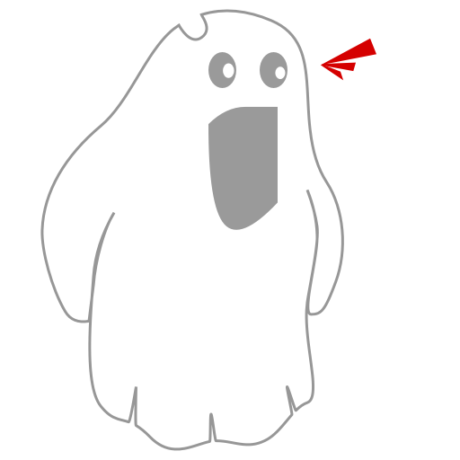 A Scary Ghost messages sticker-10