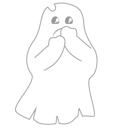 A Scary Ghost messages sticker-3