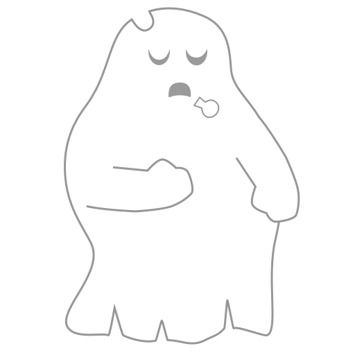 A Scary Ghost messages sticker-8