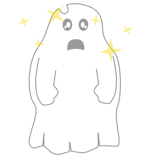 A Scary Ghost messages sticker-7