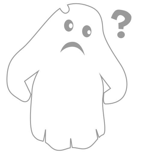 A Scary Ghost messages sticker-0