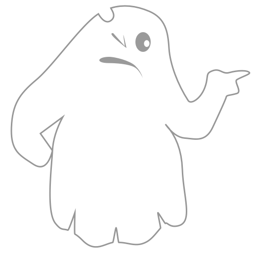 A Scary Ghost messages sticker-1