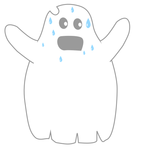 A Scary Ghost messages sticker-5