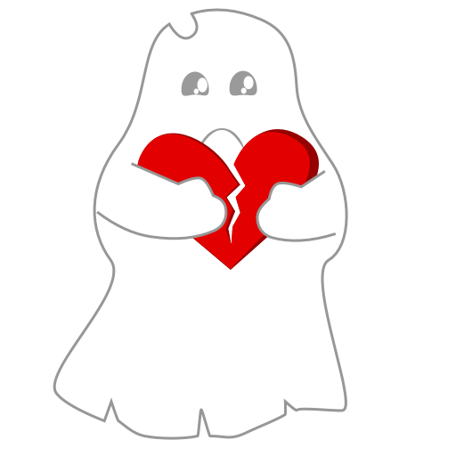 A Scary Ghost messages sticker-11
