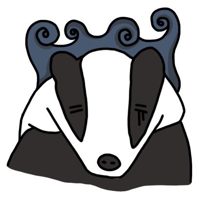 Badger messages sticker-11