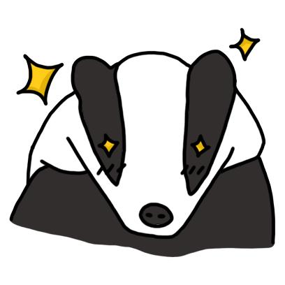 Badger messages sticker-10