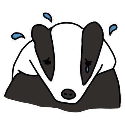 Badger messages sticker-2