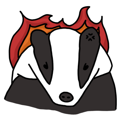 Badger messages sticker-1