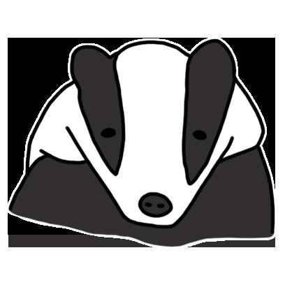 Badger messages sticker-0