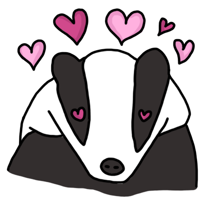 Badger messages sticker-9
