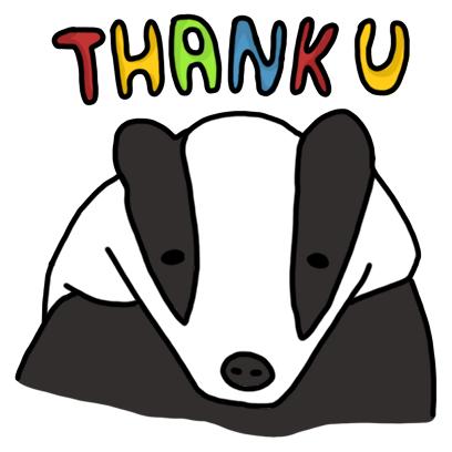 Badger messages sticker-8