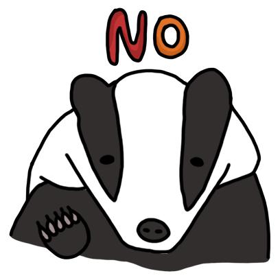 Badger messages sticker-6
