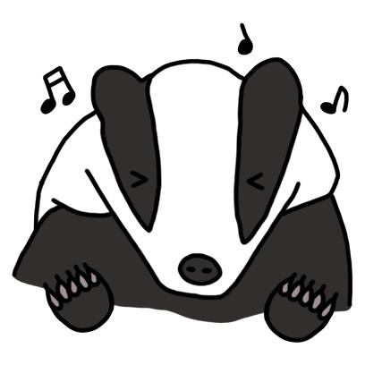 Badger messages sticker-3