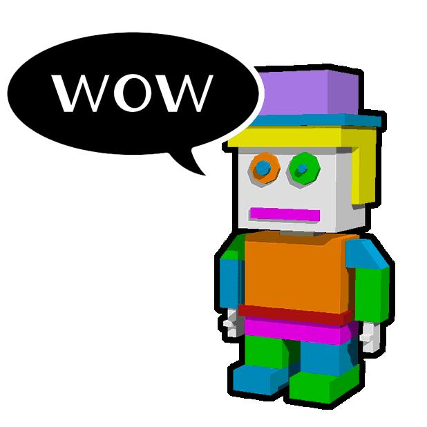 Blocky Humans messages sticker-3