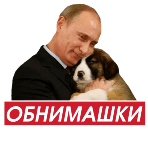 Act Like Putin messages sticker-2