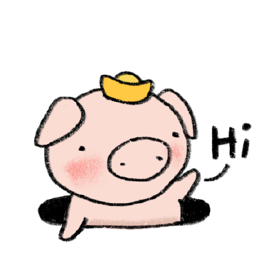 Marvin the Lucky Pig messages sticker-6