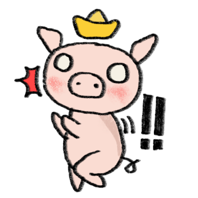 Marvin the Lucky Pig messages sticker-9