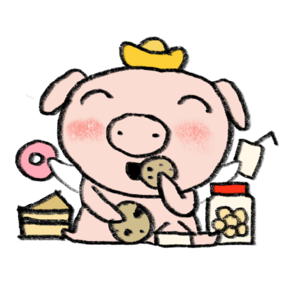 Marvin the Lucky Pig messages sticker-4