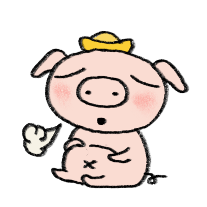 Marvin the Lucky Pig messages sticker-5