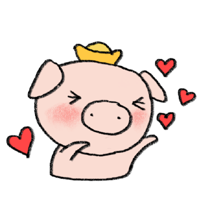Marvin the Lucky Pig messages sticker-0