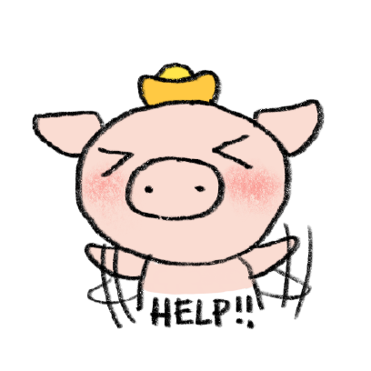 Marvin the Lucky Pig messages sticker-11