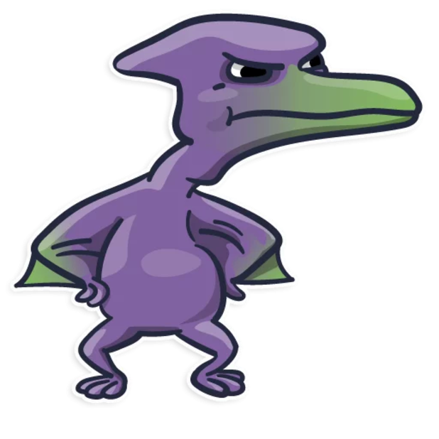 Pterodactylus messages sticker-8