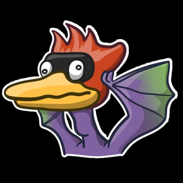 Pterodactylus messages sticker-1