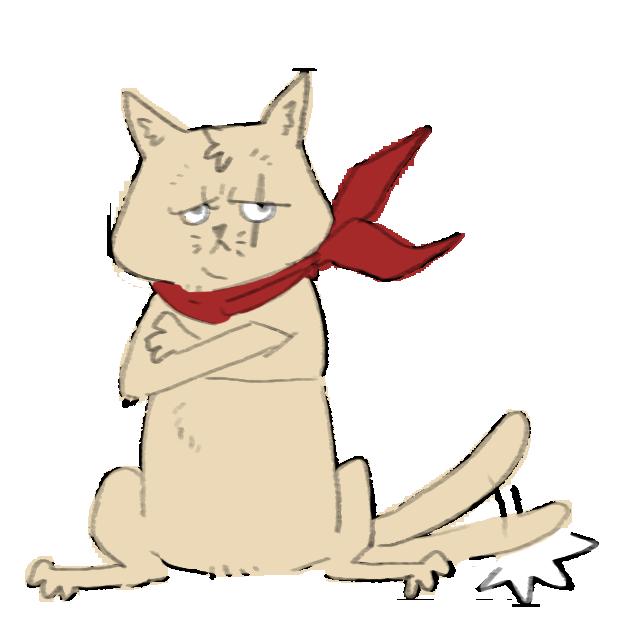 Thug cat messages sticker-5