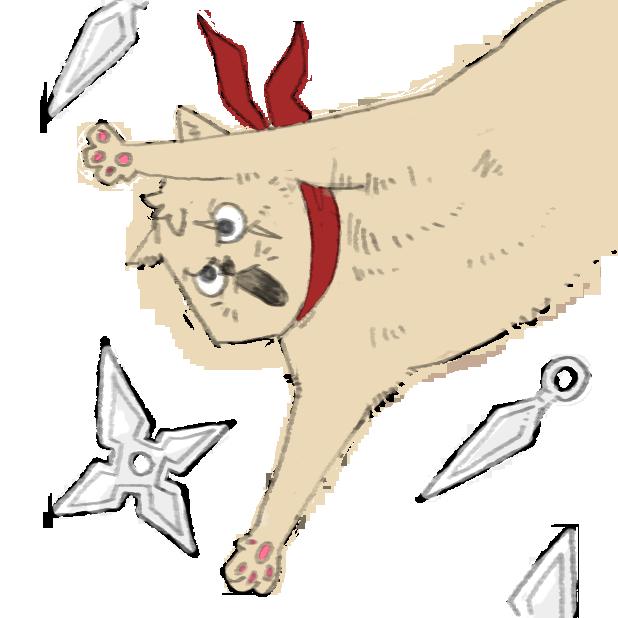 Thug cat messages sticker-0