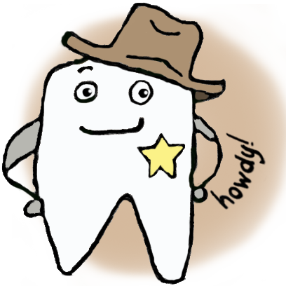 Chip the Tooth cute stickers messages sticker-9