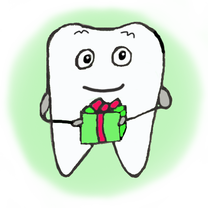 Chip the Tooth cute stickers messages sticker-0