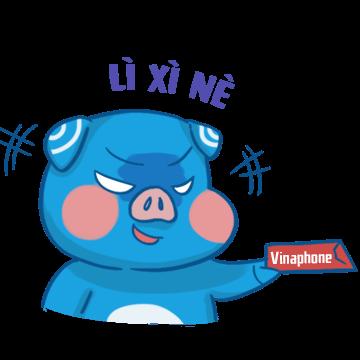 Tết VinaPhone messages sticker-0