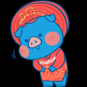 Tết VinaPhone messages sticker-8