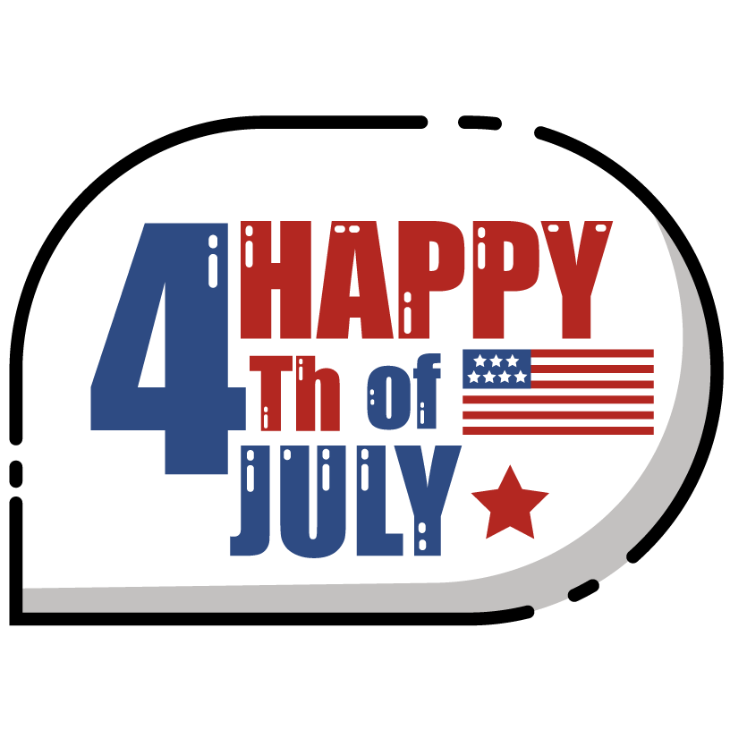 HAPPY 4TH OF JULY messages sticker-3