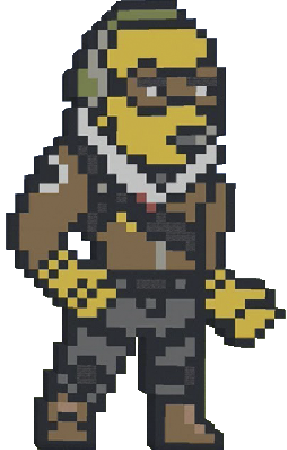 Pixel Stickers for Fortnite messages sticker-9