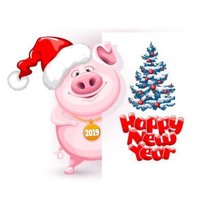Piggy Chinese New Year Sticker messages sticker-1