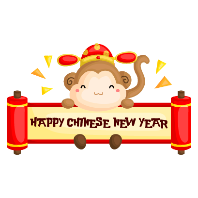Chinese New Year Stickers Pack messages sticker-4