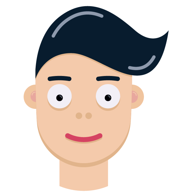 Man Face Emoji messages sticker-3