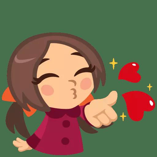 Happy Couple Valentine Sticker messages sticker-3