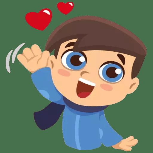 Happy Couple Valentine Sticker messages sticker-7