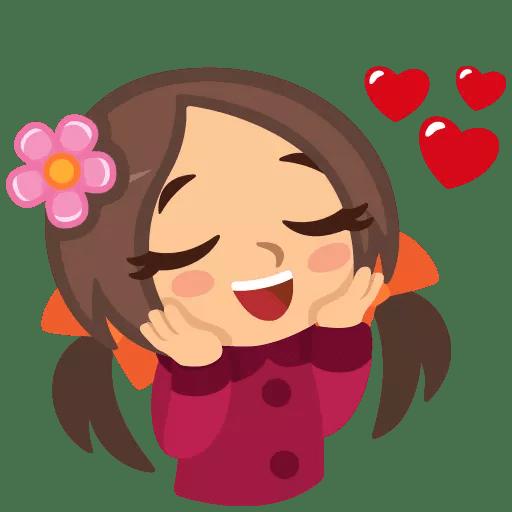 Happy Couple Valentine Sticker messages sticker-0