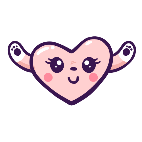 Adorable Heart Stickers messages sticker-1