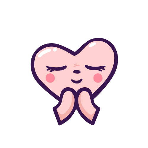 Adorable Heart Stickers messages sticker-3