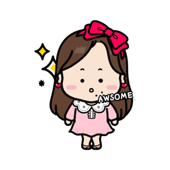 iSticker PiPi Girl messages sticker-4