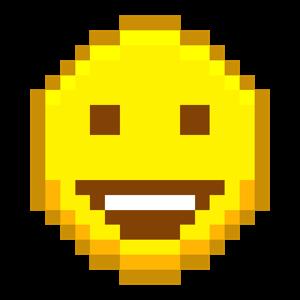 Pixel Emoji Stickers messages sticker-0
