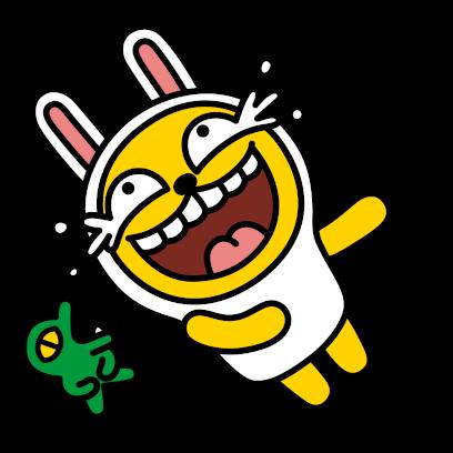 Hello Kakao Friends messages sticker-7